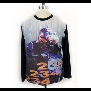 Vintage Motocross Motorcycle Graphic Long Sleeve